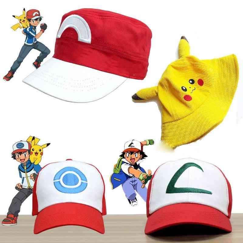 Kids Party Pokemoner Cosplay Baseball Cap