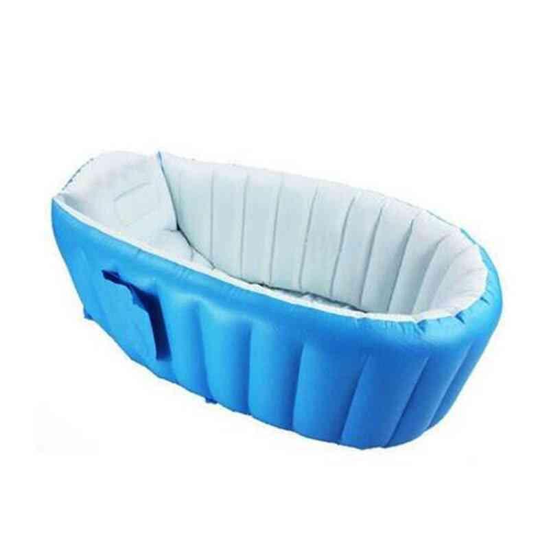 Portable Inflatable Baby Swimming Pool Bath Tub Kids Outdoor Basin Newborn