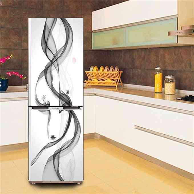Self-adhesive Waterproof Refrigerator Poster, Diy Decal Wallpaper