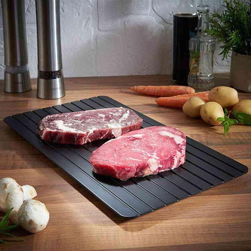 Meijuner Fast Defrosting Thaw Frozen Food Meat Fruit Quick Defrosting Plate