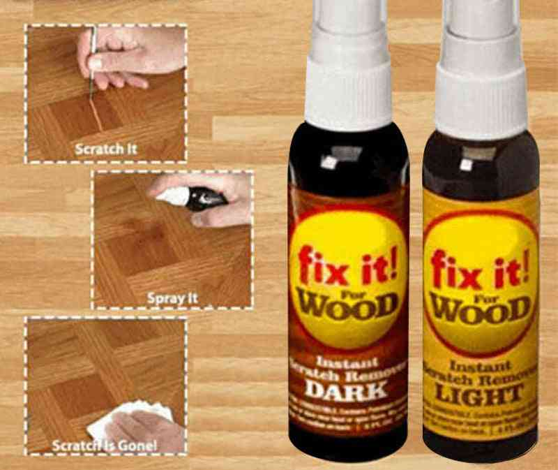 Instant Fix Wood Scratch Remover, Repair Paint For Wooden Table, Bed, Floor