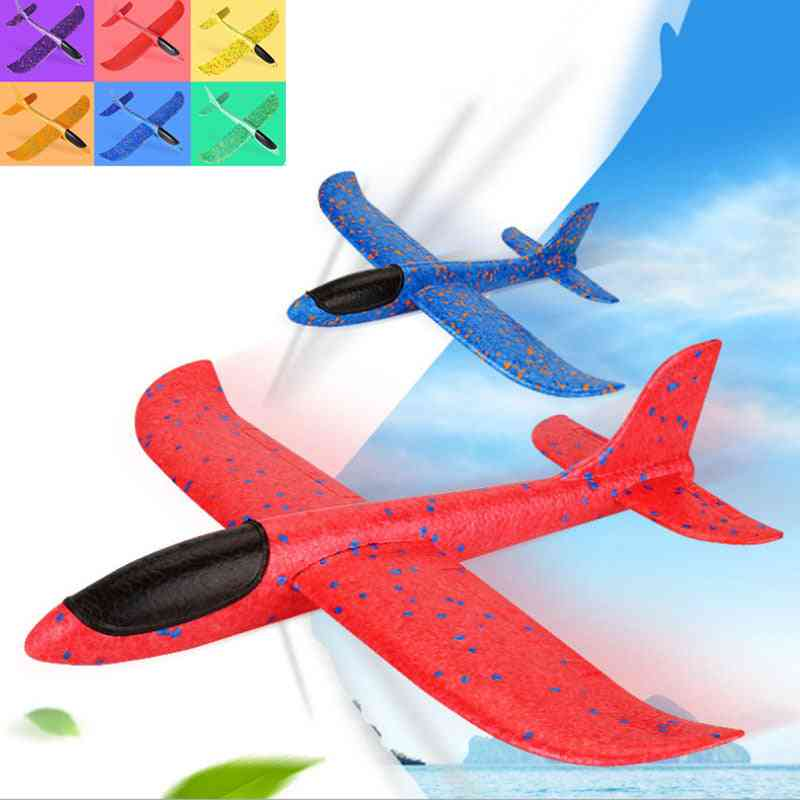 Big Aircraft Models Toy, Games, Large Airplane, Foam Glider, Indoor, Outdoor Flight, Hand Throw Fly