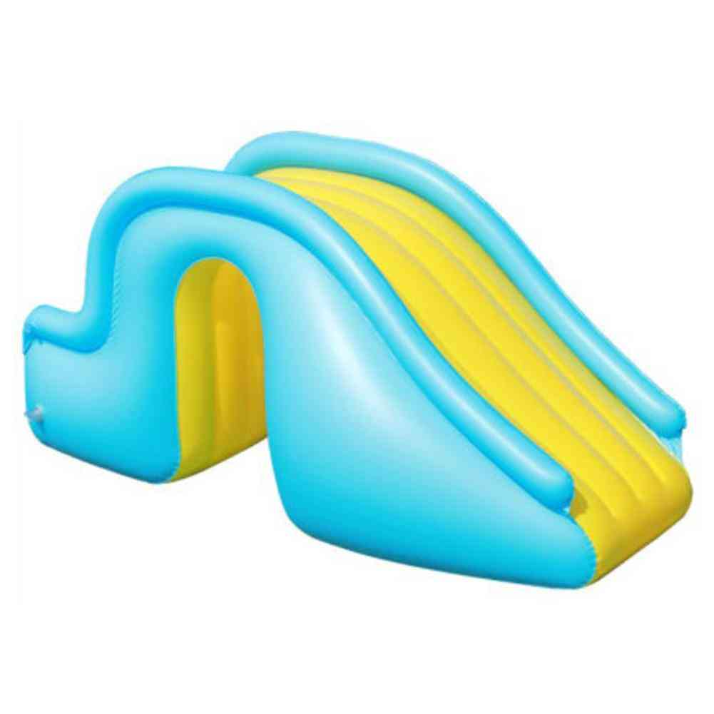 Inflatable Waterslide. Wider Steps. Joyful Swimming Pool Supplies. Kids Play Recreation Facility