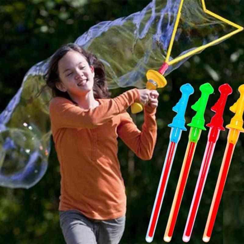 Long Bubble Machine Gun (1pc Random Color)