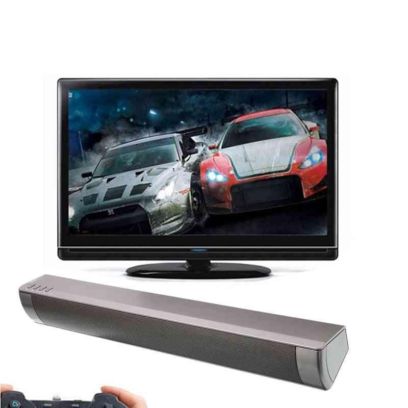 Tv Soundbar Wireless Portable Fm Radio Function Wall Mounted Speaker