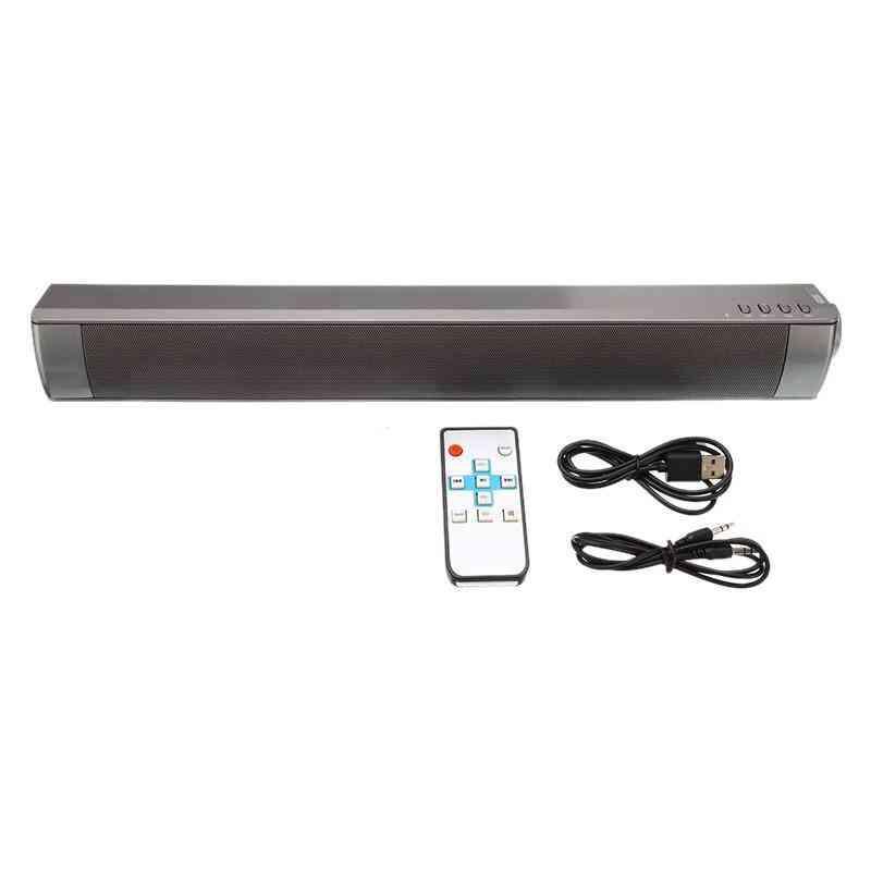 Tv Soundbar Wireless 3.5 Mm Audio Input Usb Interface Hifi Column Portable Speaker