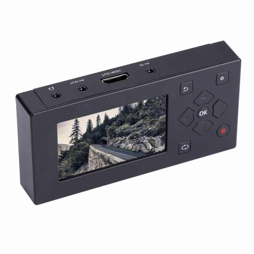 1pc Av Recorder Audio Video Convert Converter Vhs/ Camcorder For Home Cassette Recording