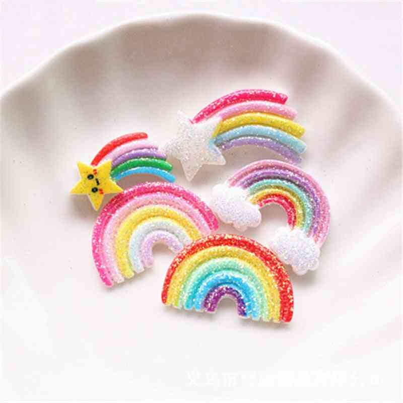 Slime Charms Resin Glitter Rainbow Additives Kit