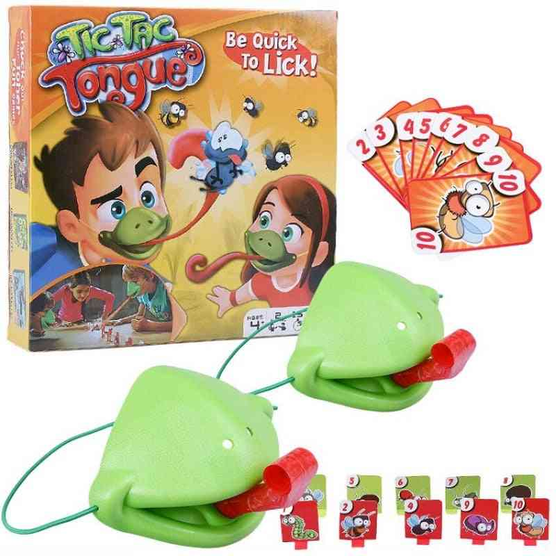 Greedy Chameleon Lizard Spit Tongue Interactive Game
