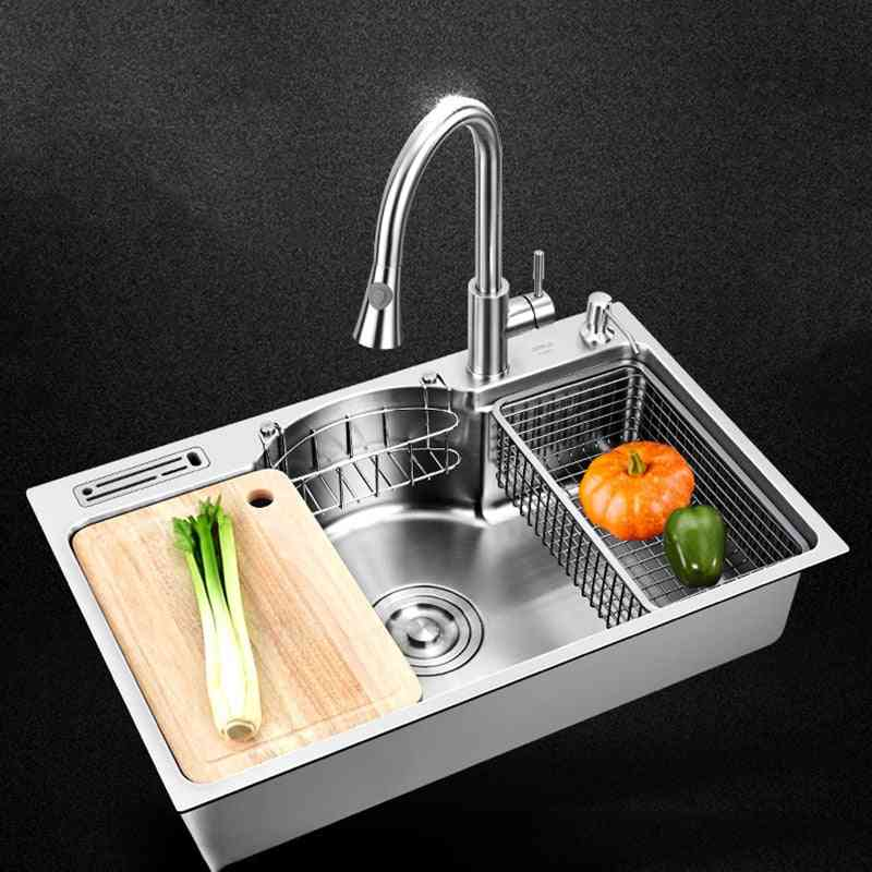 Multifunctional Kitchen Stainless Steel Sink