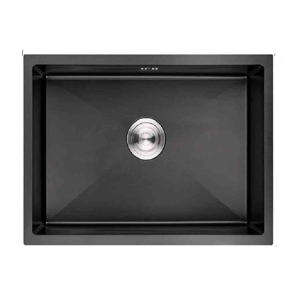 Black Undermount Kitchen Basin Single Kitchen Sink