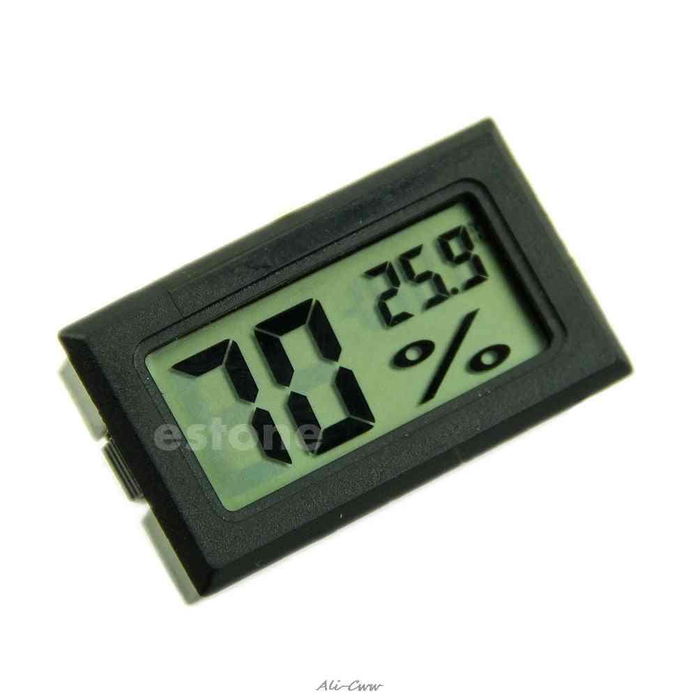 Hygrometer Thermometer Digital Lcd Temperature Humidity Meter