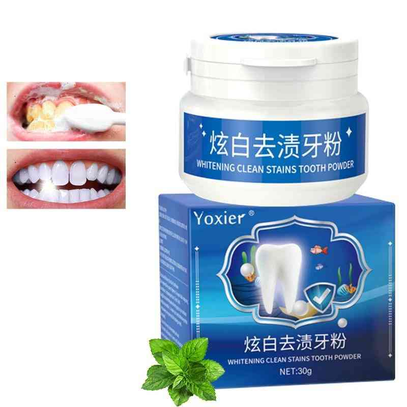 Yoxier Whitening Clean Stains Tooth Powder  (tooth Powder)