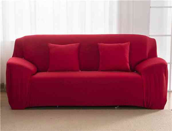 Living Room Polyester Modern Elastic Corner Couch Cover