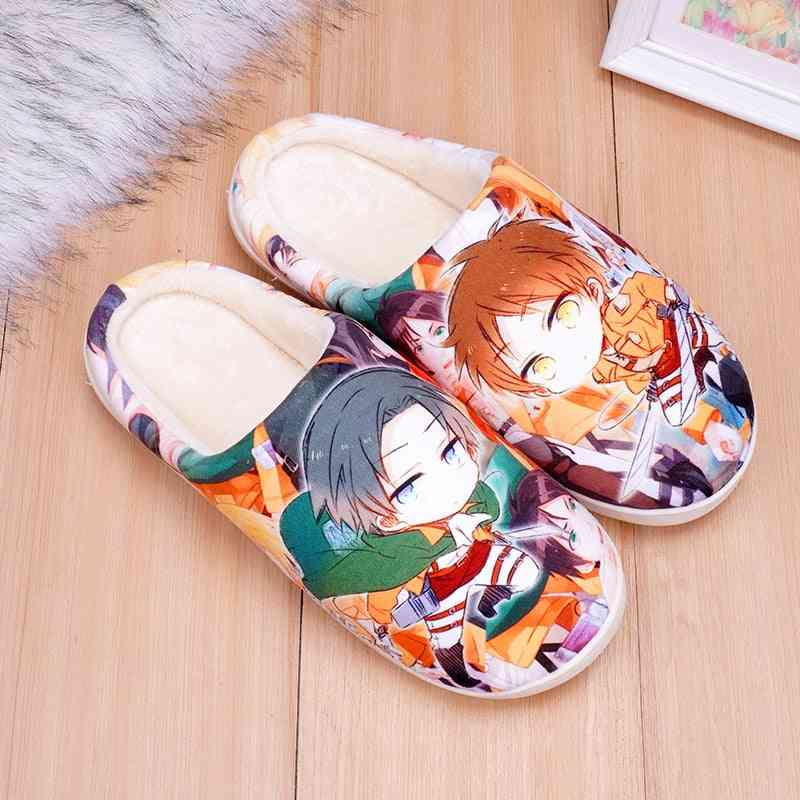 Cosplay Anime Shoes Luffy Warm