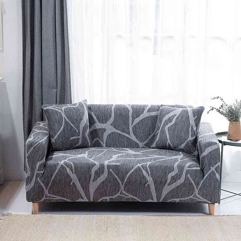 Living Room Non-slip Stretch Slipcover, Sectional Couch Cover