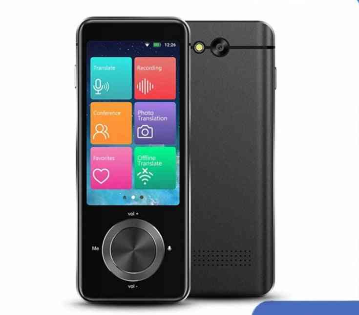 Portable 3.0 Inch Voice Translator Multi Languages Instant Mini Wireless 2 Way Real Time