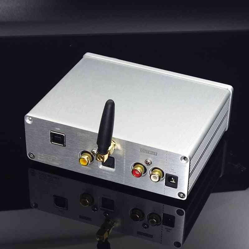 Breeze Audio Dac Su9 Digital Decoder Dual Ak4493eq Support Dsd512 Bluetooth5.0 Qcc3031 Aptx-hd Usb Option