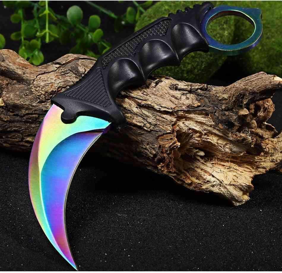 Multi Tools Outdoor Survival Knives, Camping, Hunting, Counter Strike, Tactical Tools