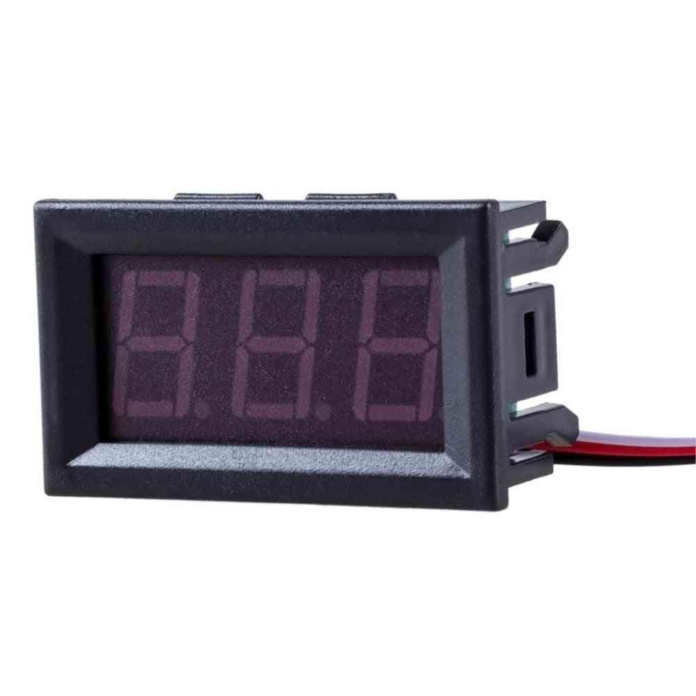 Mini Voltmeter Tester Digital Voltage Test Battery