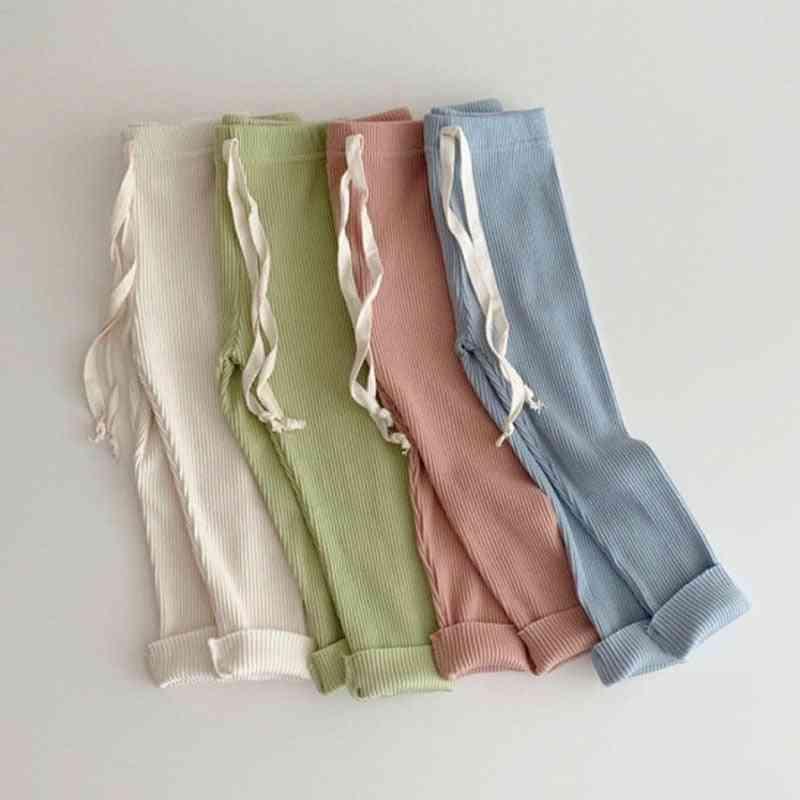 3pcs/lot Baby Boy Girl Leggings Silk Cotton Pp Pants Trousers
