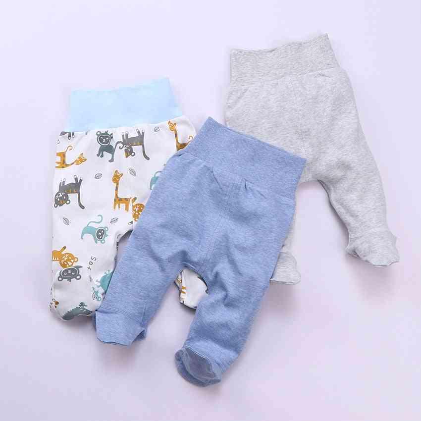 Newborn Baby Leggings High Waist Pants Sleeper Pajamas
