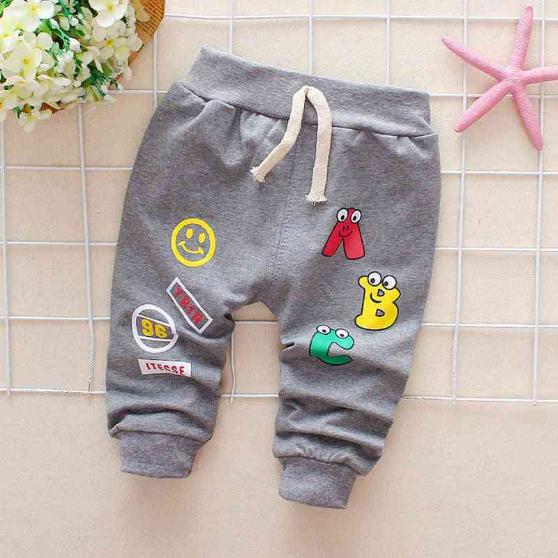 Letter Cotton Harem Pants For Baby Casual Boy Girl Clothes
