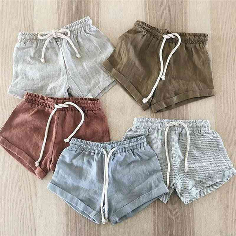 Summer Casual Shorts Bloomers Baby Boy Girl Cotton Short Trousers Pp Pants