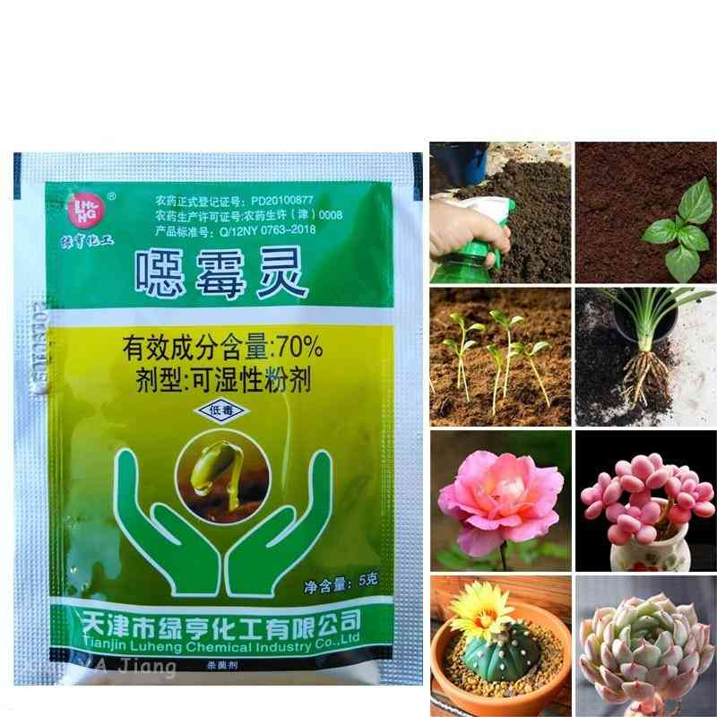 Wettable Powder Fungicide Soil Disinfectant Plant