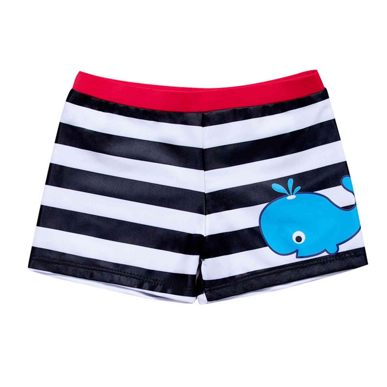 Baby Summer Stripe Print Swimwear Beach Pants Swimsuit