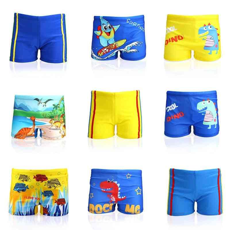 Fashion Kids Cartoon Swimwear Baby Boy Swim Trunk Beach Short