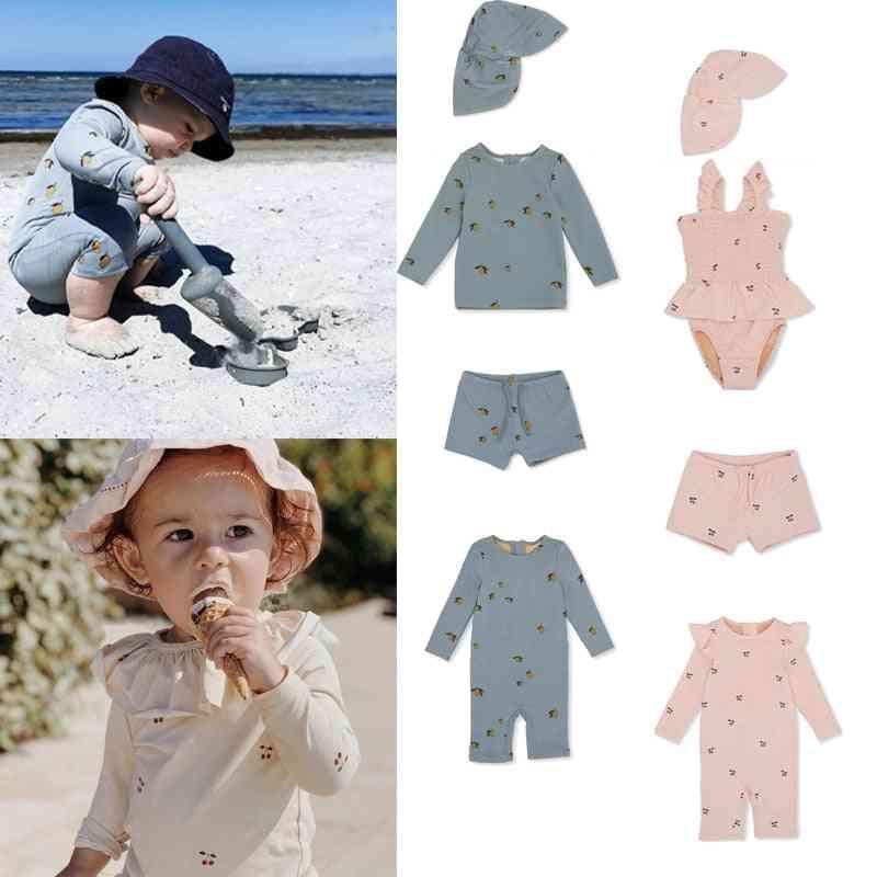 New Summer Ks Brand Kids Swimwear Sets For