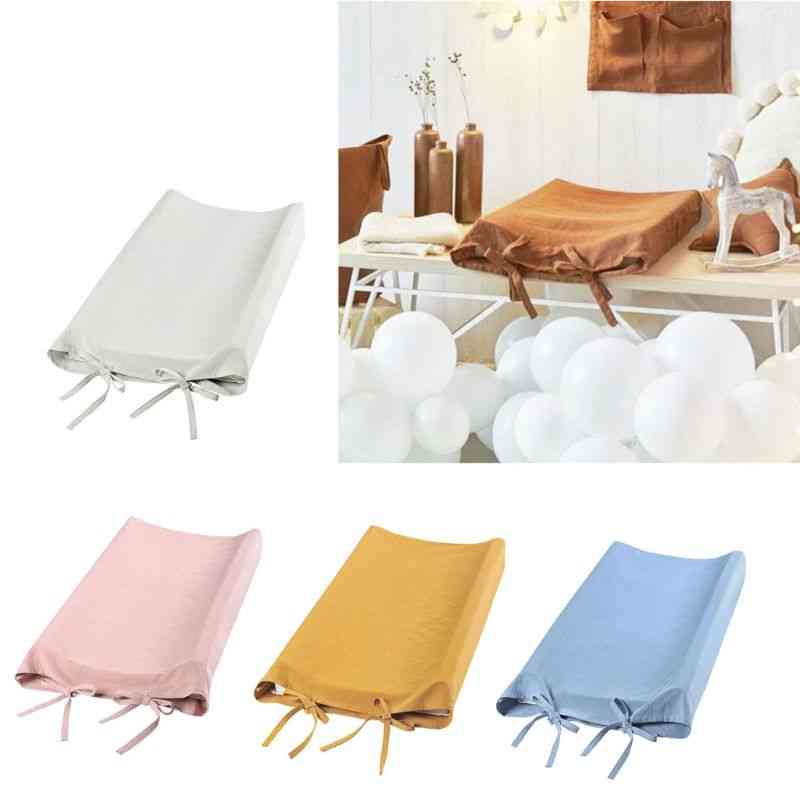 Baby Changing Table Pad Cover For Soft Breathable Cotton Shower