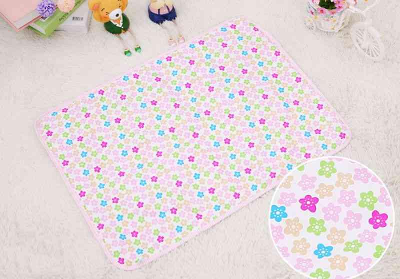 Waterproof Diaper Baby Cotton Mattress Changing Table Urine Mat Portable Baby Diaper Changing Crawling