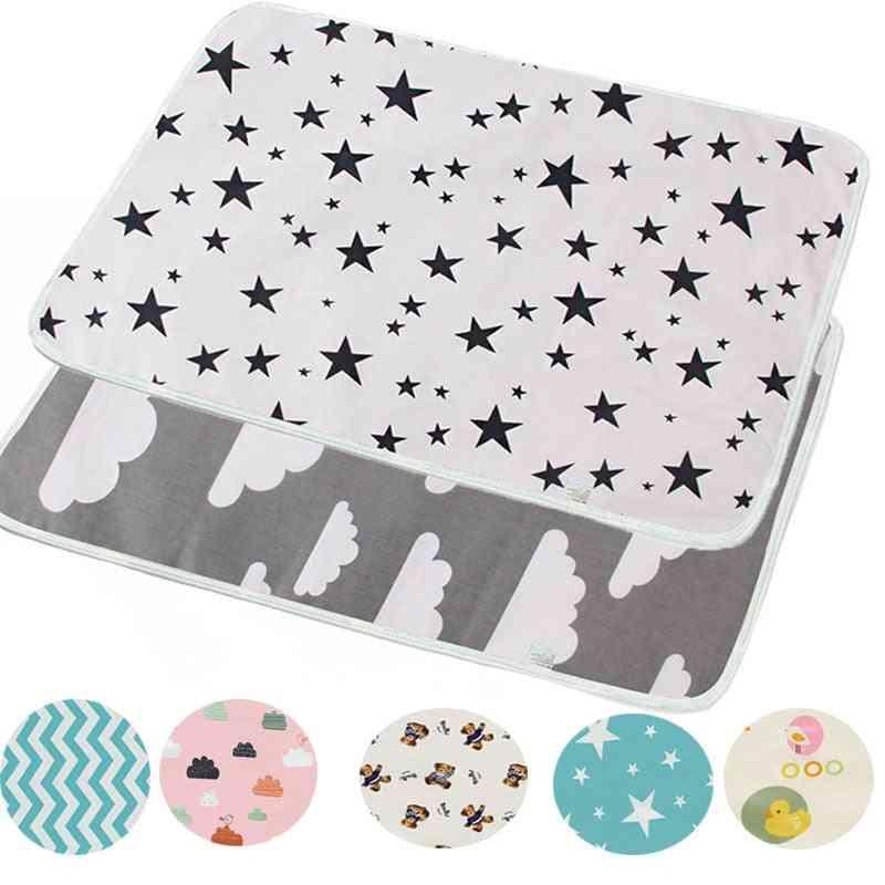 Reusable Baby Changing Mats Cover Diaper Mattress Diaper For Newborn Waterproof Changing