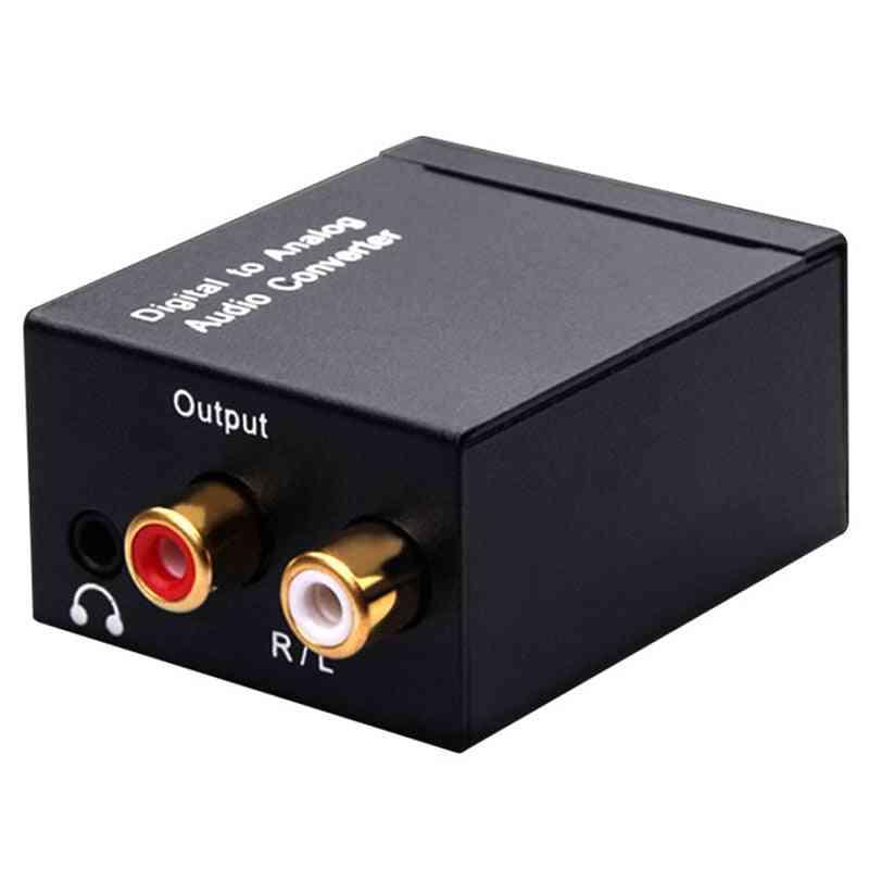 Jack Coaxial Optical Fiber Digital To Analog Audio  (1)
