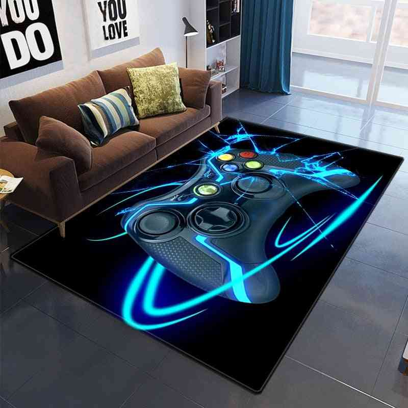 The New Game Controller Carpet Decoration For Home Bedroom Kitchen Living Room Bathroom
