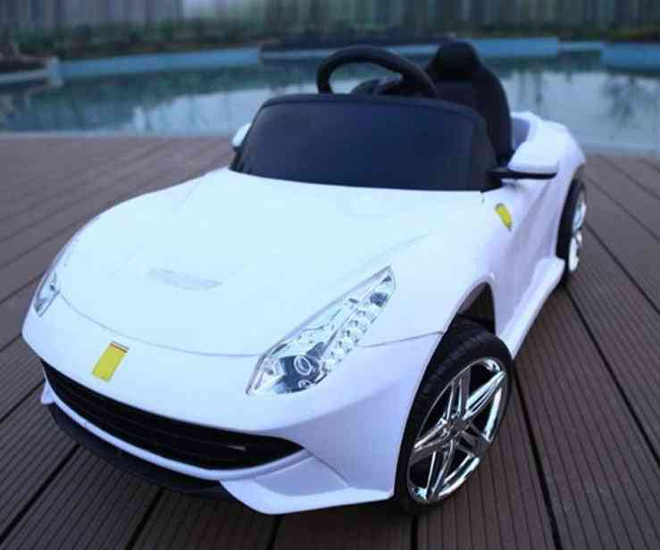 Children Electric Can Sit Double Drive Stroller Car With Remote Control
