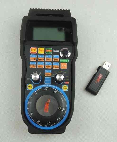 Machine Remote Control Handwheel Mach Usb Wireless Hand Wheel For  Milling Machine
