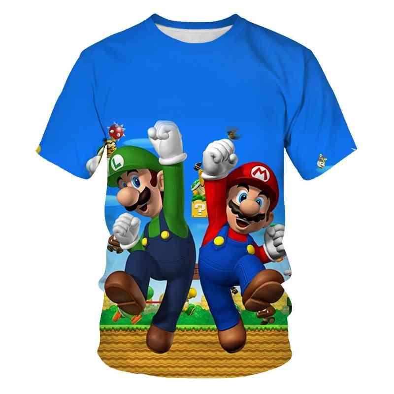 Classic Games Super Mario T-shirt