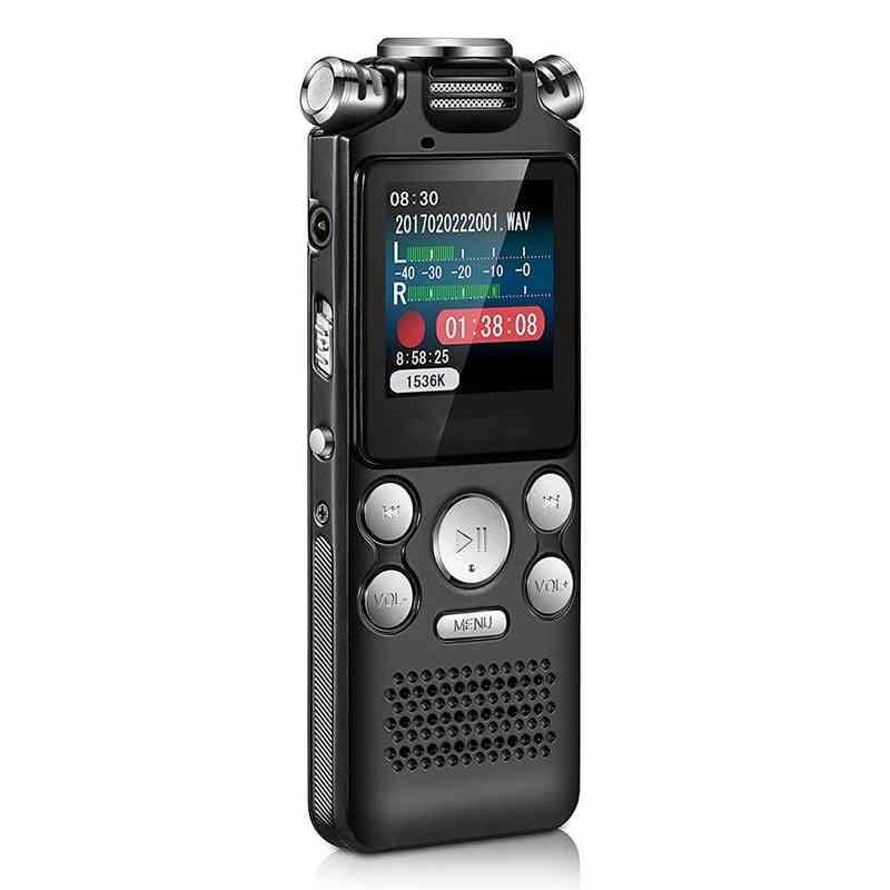 Digital Audio Voice Recorder Pen, Mini Lossless Activated Sound Dictaphone