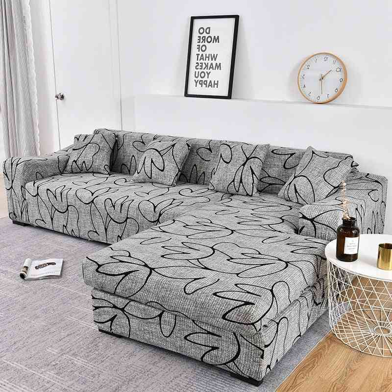Sofa Cover- Elastic Couch, Sectional Chair Cover, Corner L-shape Sofa