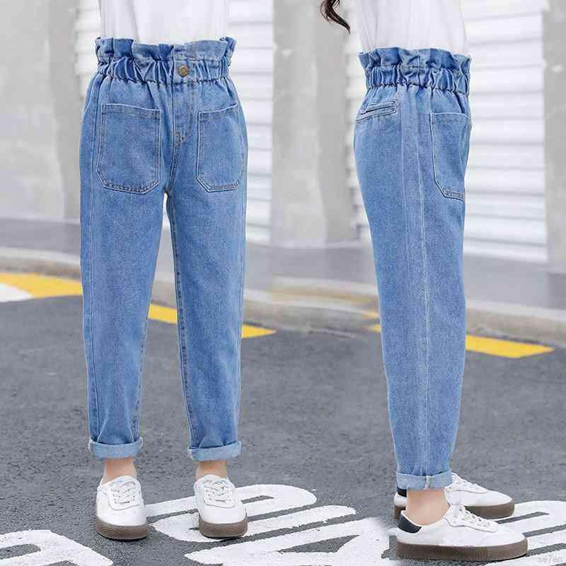 Spring And Autumn High Waist Jean