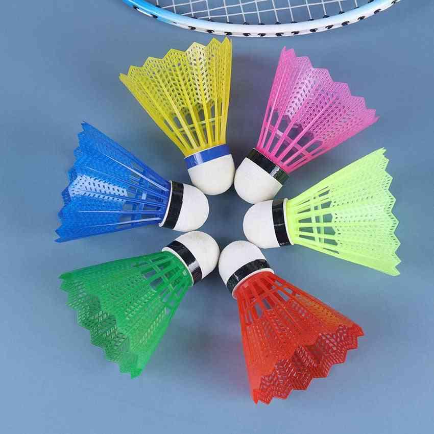 Outdoor Family Movement Supplies Colorful Badminton Balls, Foam Plastic Ball Badminton