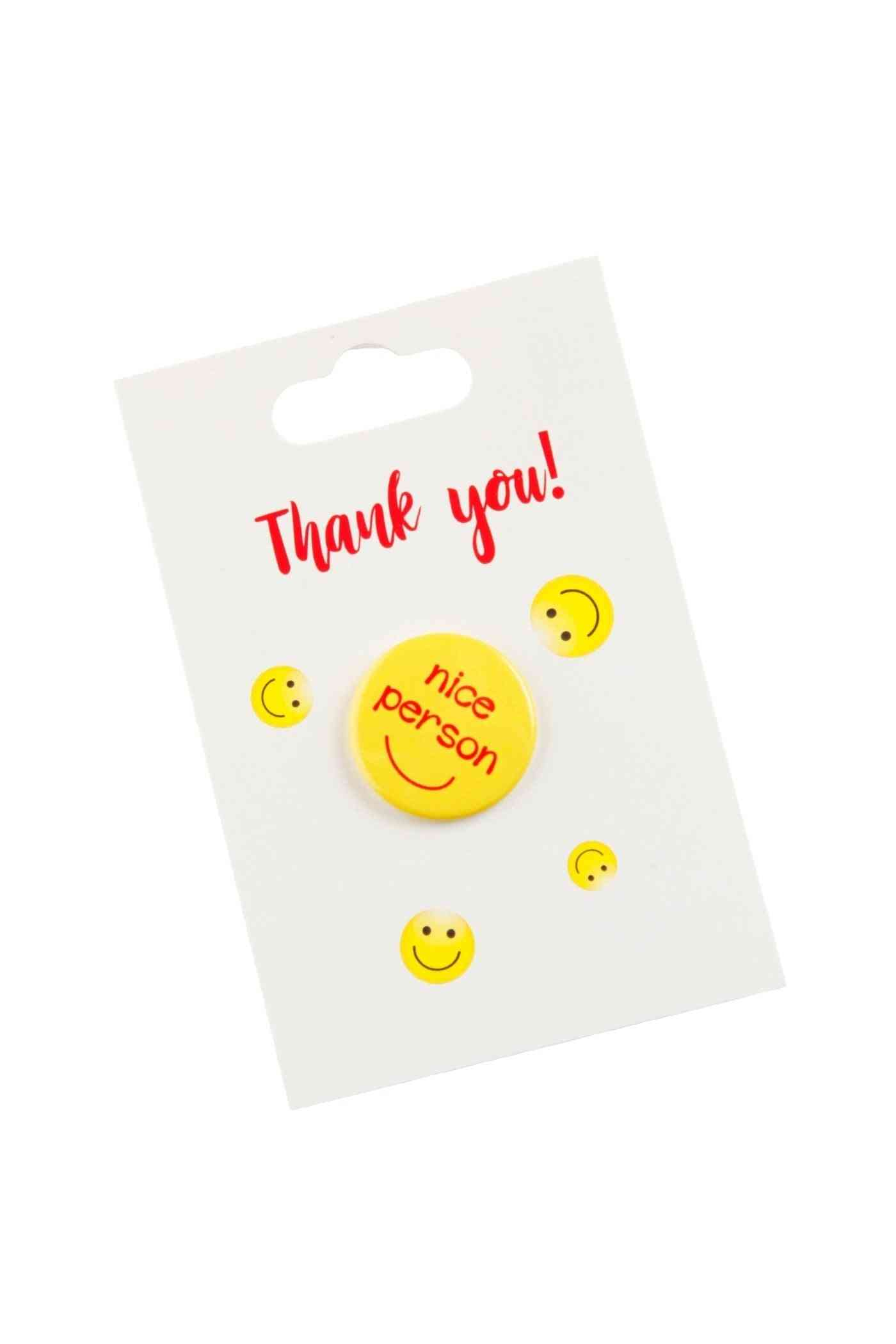Nice Person Button Badge
