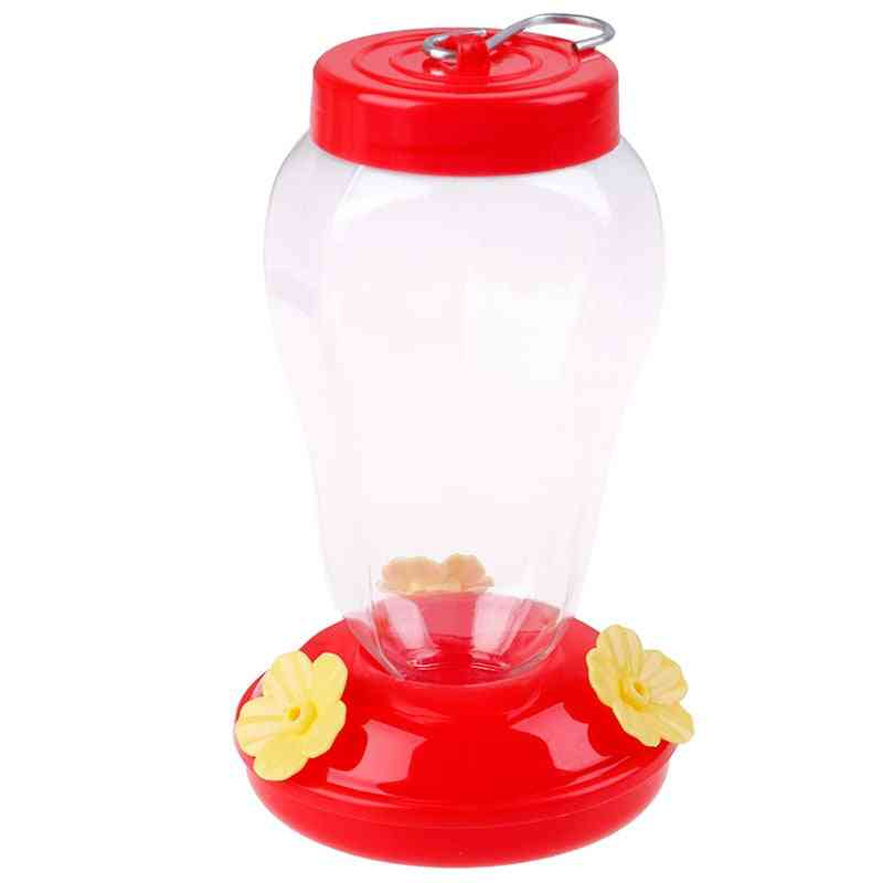 Plastics Bird Water Feeder Bottle Hanging Hummingbird Feeder