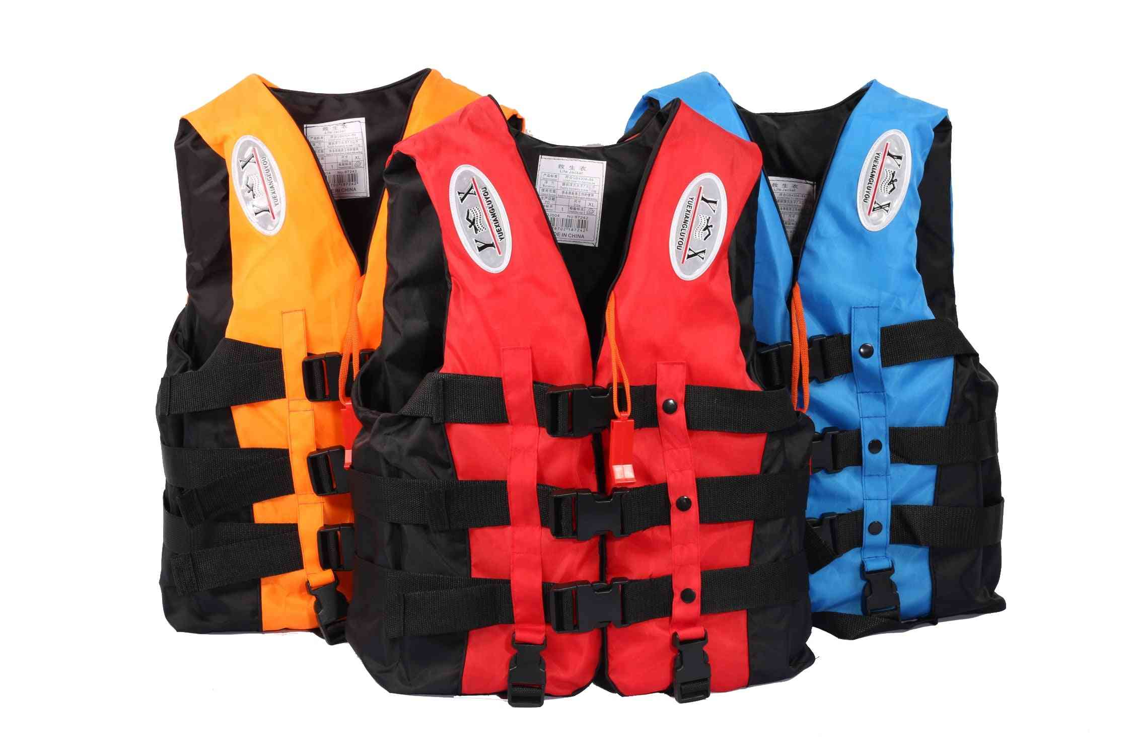 Universal Outdoor Swimming Boating Skiing Driving Vest Survival Suit