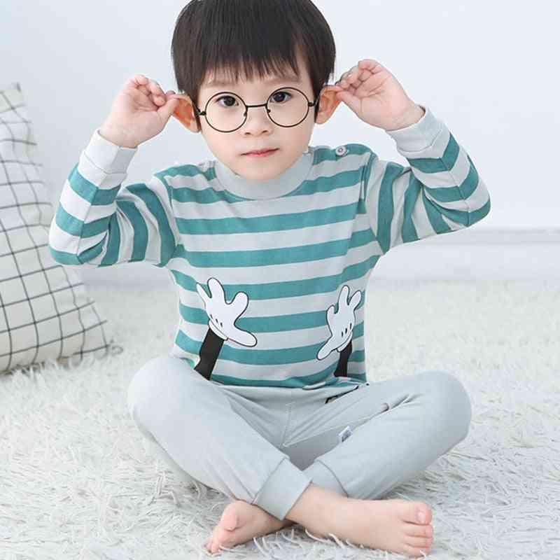 Baby Pajamas Sets Cotton Sleepwear Autumn Spring Long Sleeve Tops+pants
