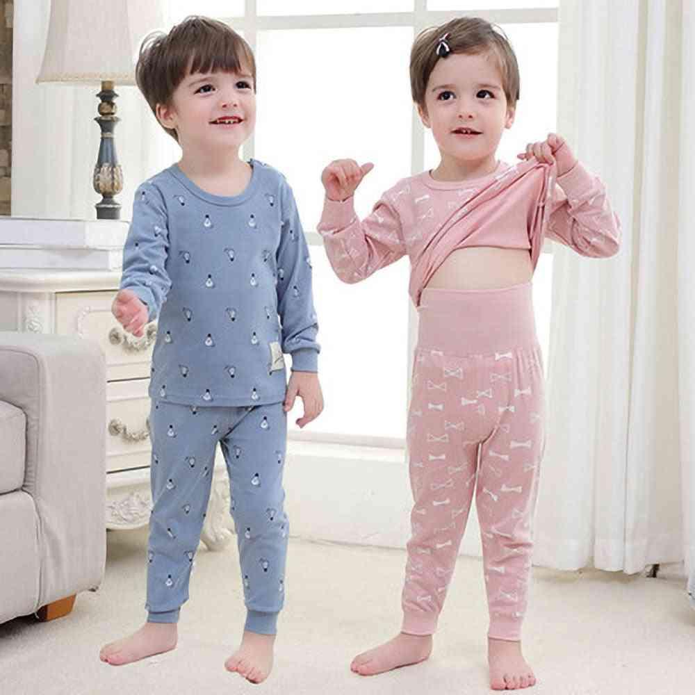 Baby Pajamas Autumn 100%  Cotton Infant Baby Sets Pajamas