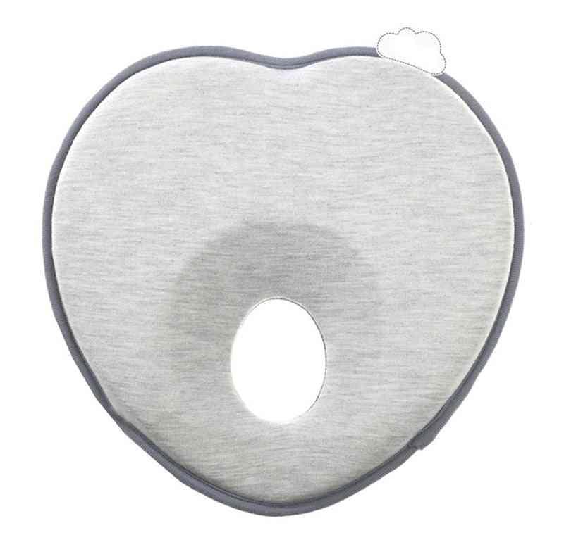 Newborn Infant Anti Roll Flat Head Neck Pillow